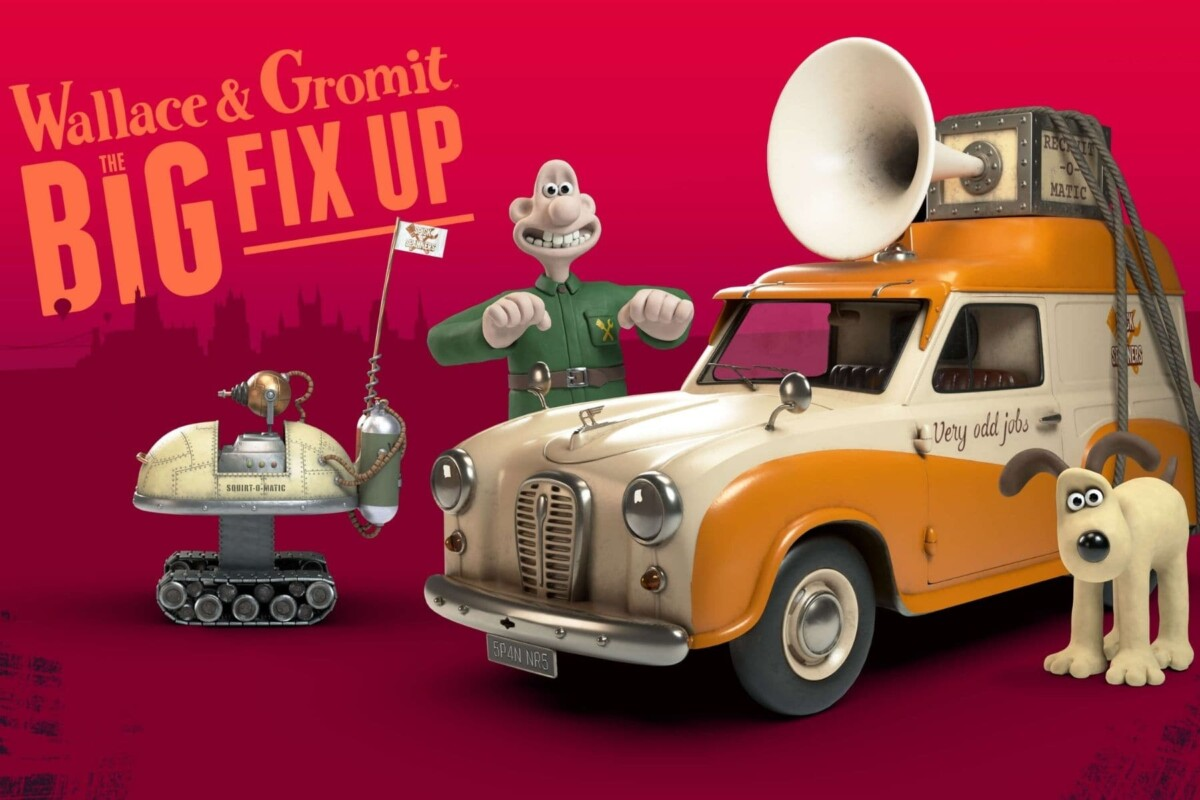 the big fix up Wallace and Gromit advert
